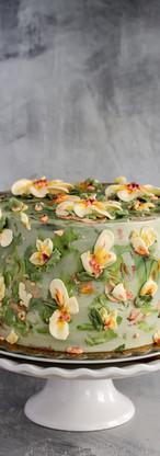 Lemon Elderflower Buttercream Birthday Cake Tortology E17 Artisan Cakes London