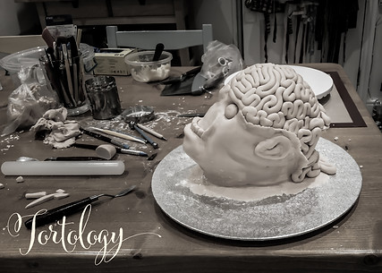 The making of the JIGSAW Movie Severed Head Cakes