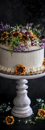 Autumnal Wedding Cake Tortology E17 Artisan Cakes London