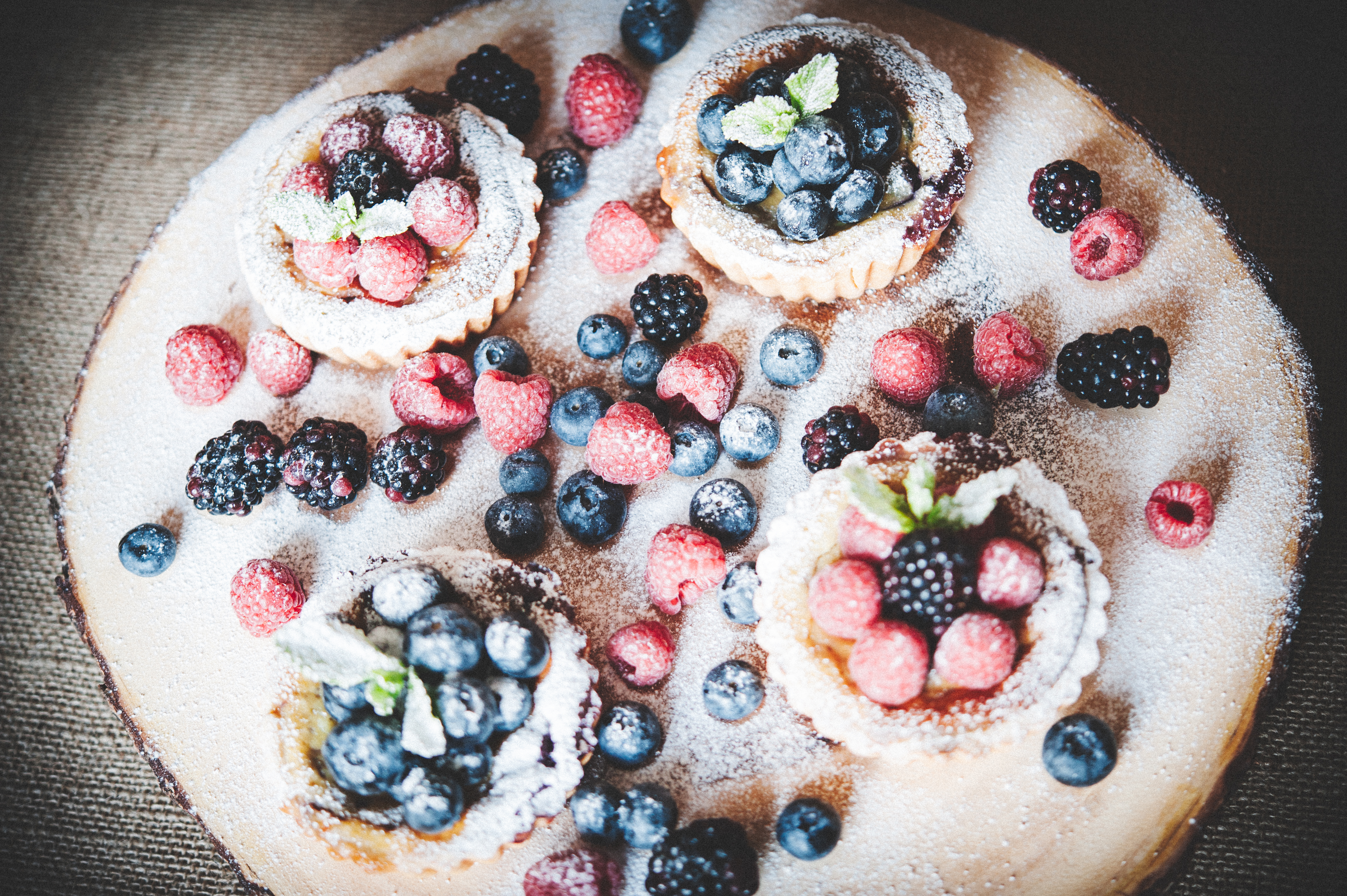 Blueberry & Ricotta Tarts Tortology