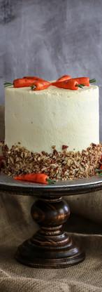 Carrot & Pecan Celebration Cake Tortology E17 Artisan Cakes London