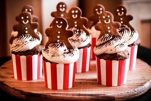 Gingerbread Cupcakes Tortology E17 Artisan Cakes