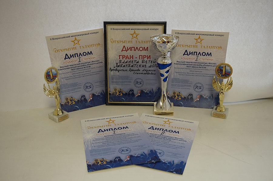 Лауреаты I степени и Гран-при