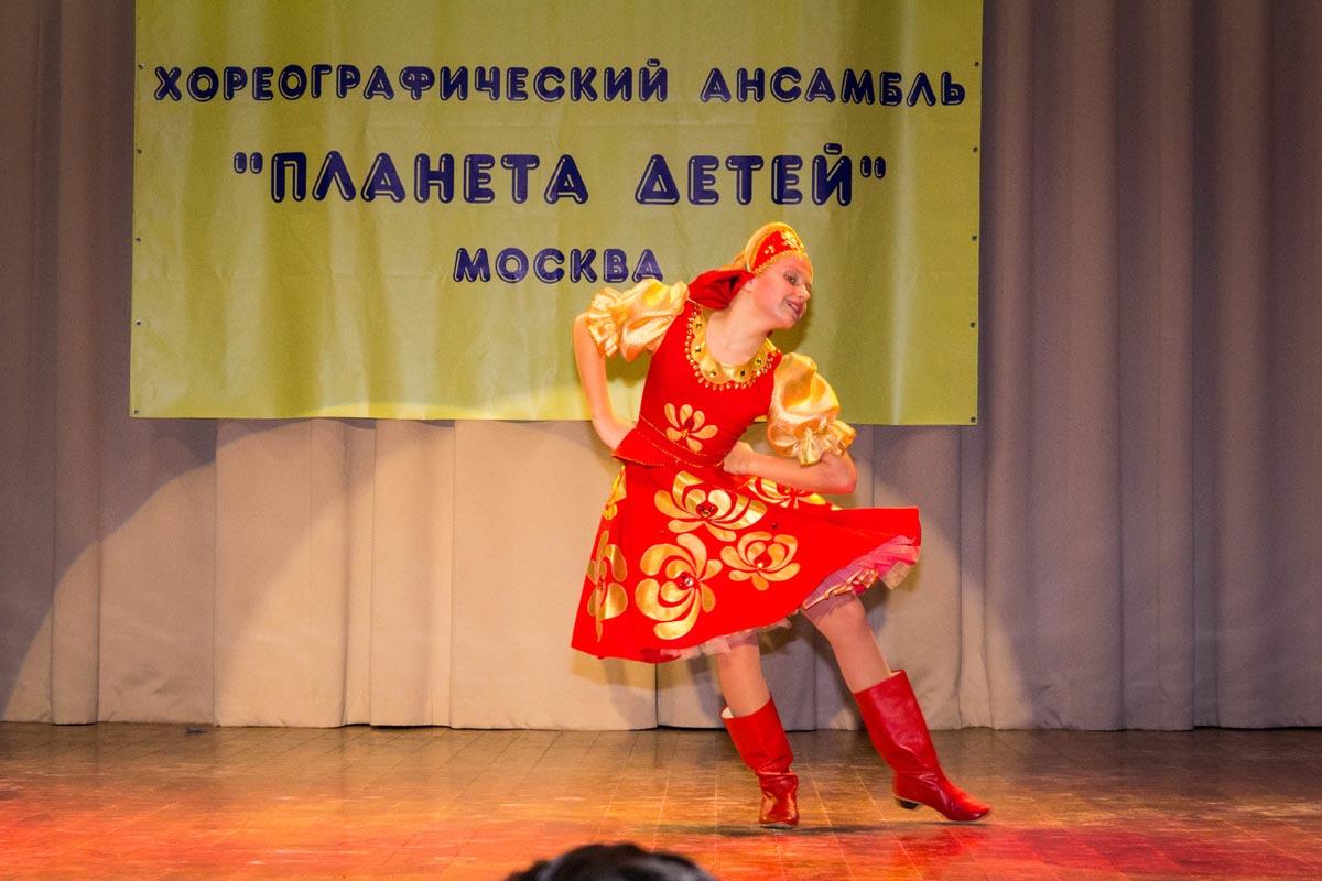 """Народный танец """"Ярмарка"""""""
