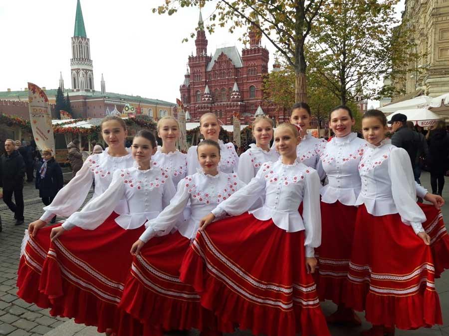 выступление на Красной площади