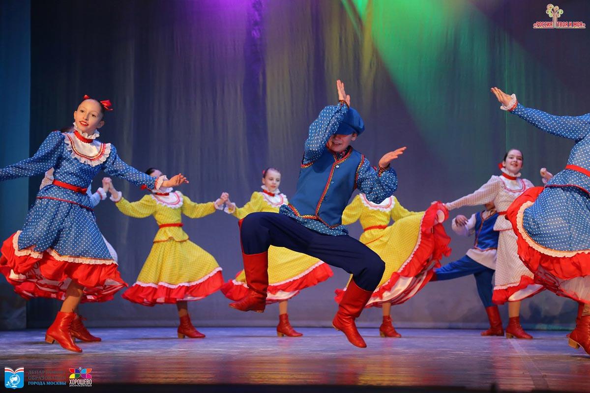 """Народный танец """"Сельская кадриль"""""""