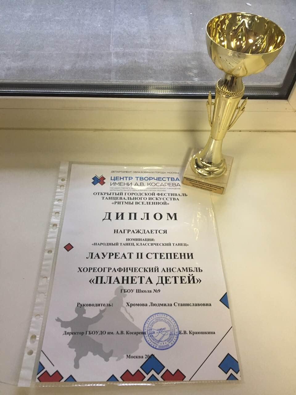 диплом лауреат II степени