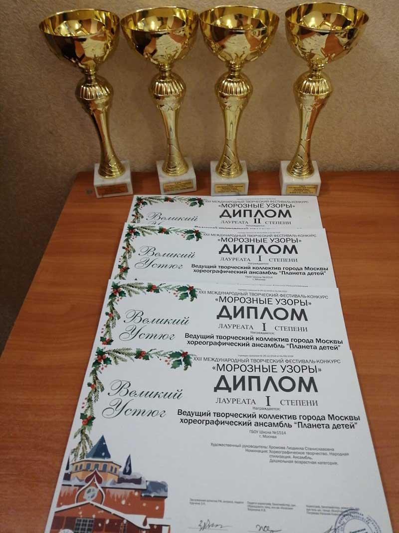 Лауреаты 1 степени
