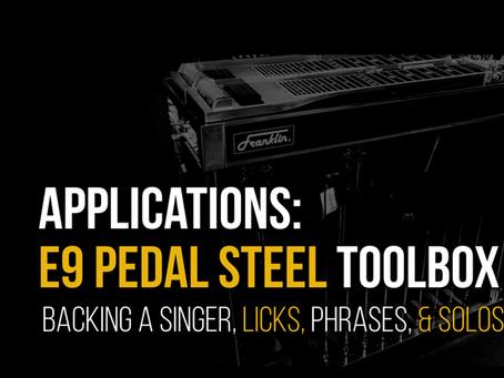 Applications: E9 Pedal Steel Toolbox
