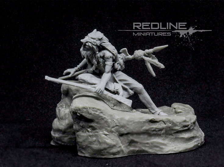 54 mm historical miniature