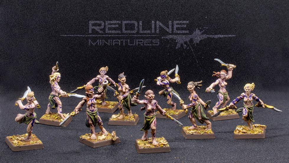 Hijas del bosque bailarinas guerreras