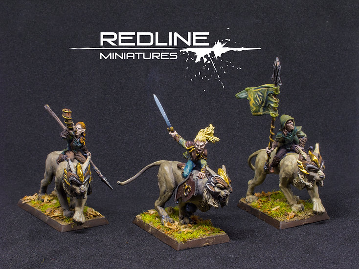 Lynx Riders | Command Group | Silvan Elves