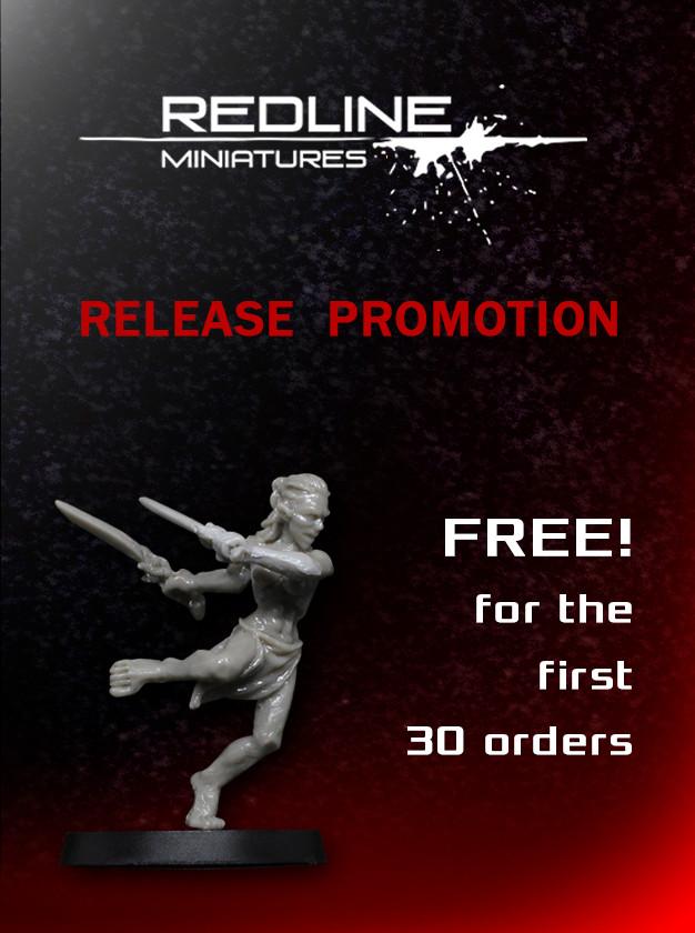 Redline miniatures promotional offer oferta