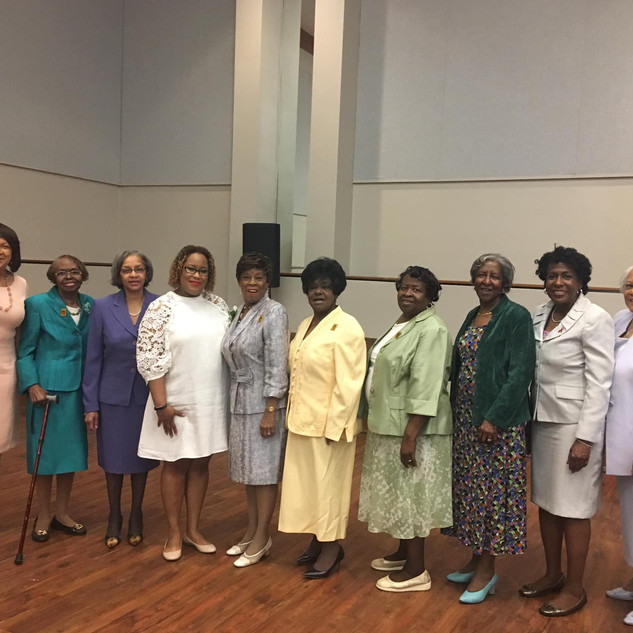 Dr. Wanda Shurney & The Cynthia Coles Circle