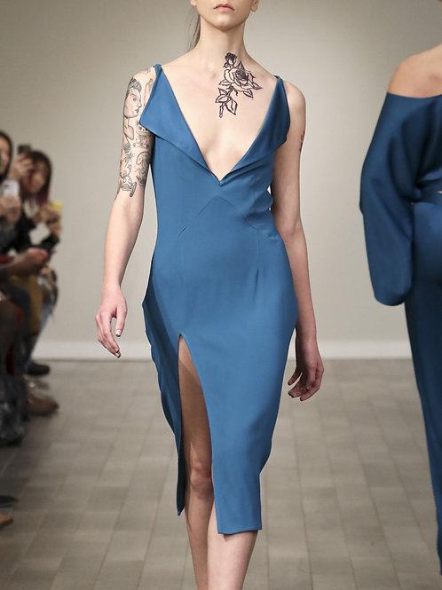F230S20.Crepe dress