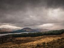 Loch Tulla Rainstorm