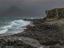Elgol beach, Port na Cullaidh (Dark)