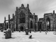 Melrose Abbey I