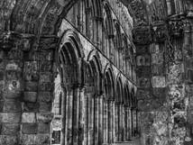 Jedburgh Abbey Archway