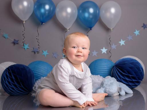Will's First Birthday Cake Smash | Petit Memories Photography | Lichfield Staffordshire
