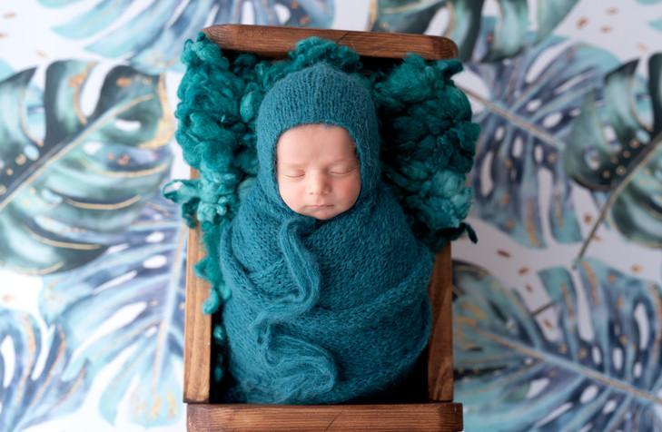Newborn mini session