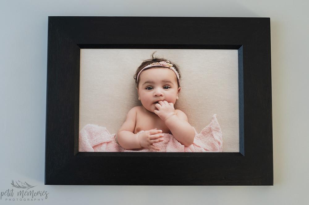 Baby girl portrait Lichfield photographer