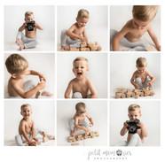 Collage kids photoshoot Lichfield