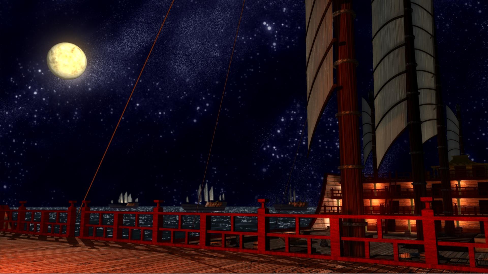 Khan's ship