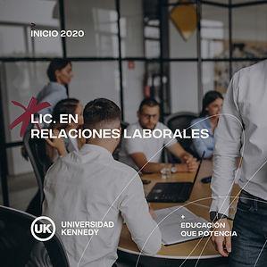 Lic. en Relaciones Laborales
