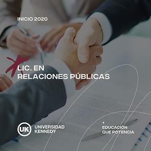 Lic. en Relaciones Públicas