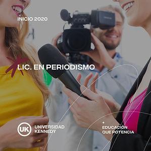 Lic. en Periodismo y Comunicaciones