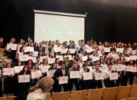 Colación 2019: 150 nuevos egresados de los programas abiertos de FCN con certificación de UNSTA