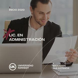 Lic. en Administración