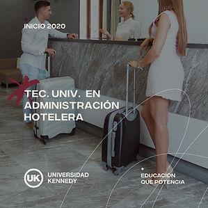 Lic. en Administración Hotelera