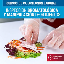 Inspección Bromatológica y Manutención de Alimentos