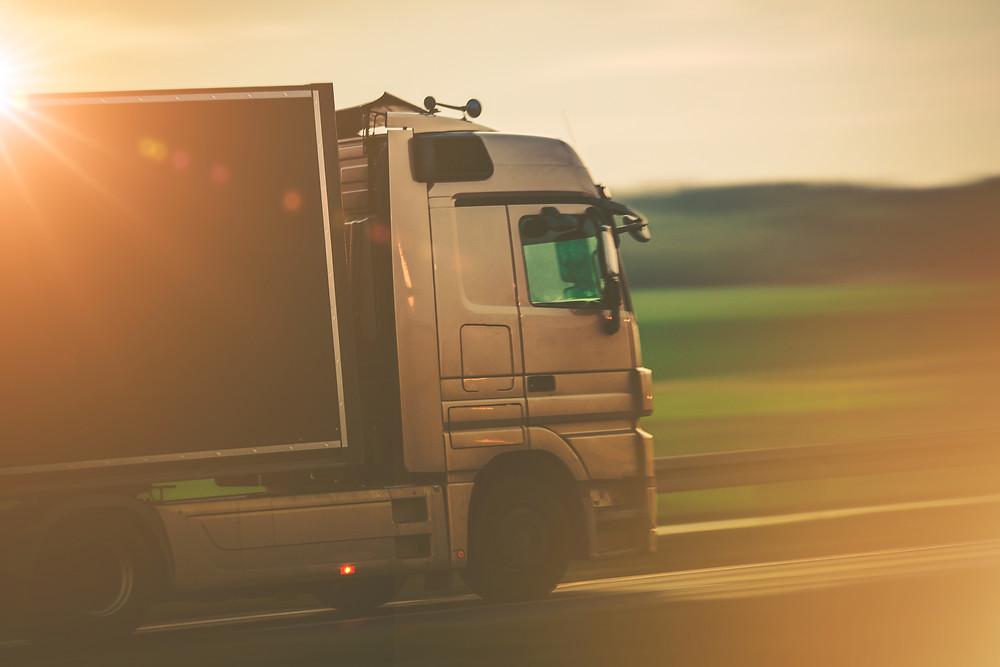 Caminhão, Transporte de mercadoria, caminhão de carga