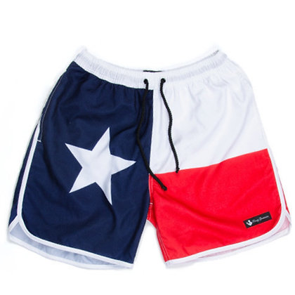 Rowdy Texas Swim Trunks