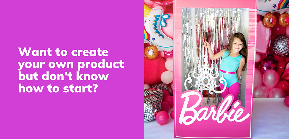 Want to create your own product but don'