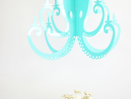 Octopus Chandelier Party Ideas