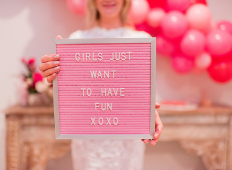 Celebrate Your Girlfriends Party