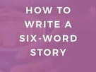 Wonderful Writing Exercise for All Ages