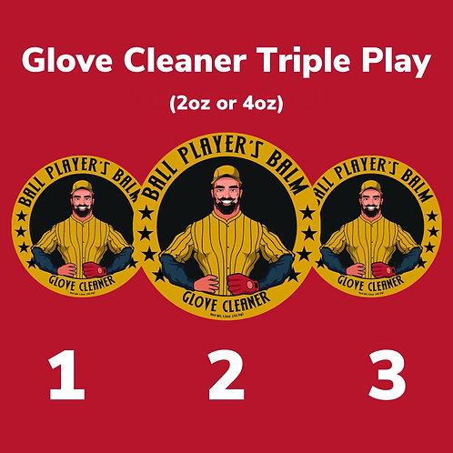 Glove Cleaner Triple Play