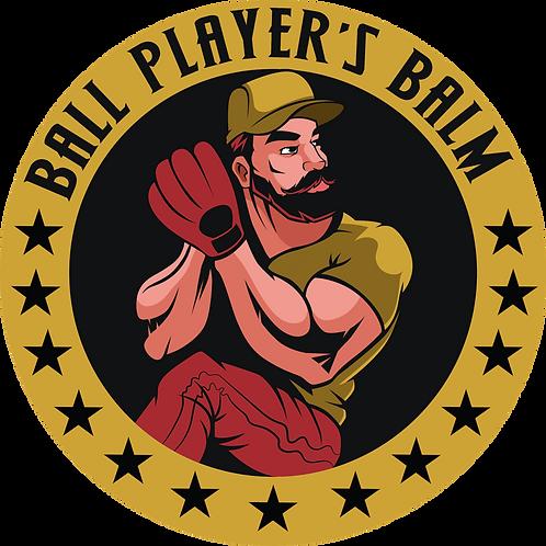 Ball Player's Balm Sticker