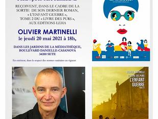 Olivier Martinelli sera aux Rendez-vous des Automn'Halles le 20 mai