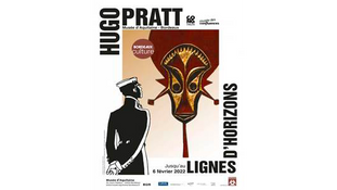 L'exposition « Hugo Pratt, lignes d'horizons »