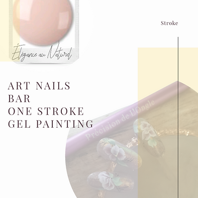 Précision de L'ongle one stroke