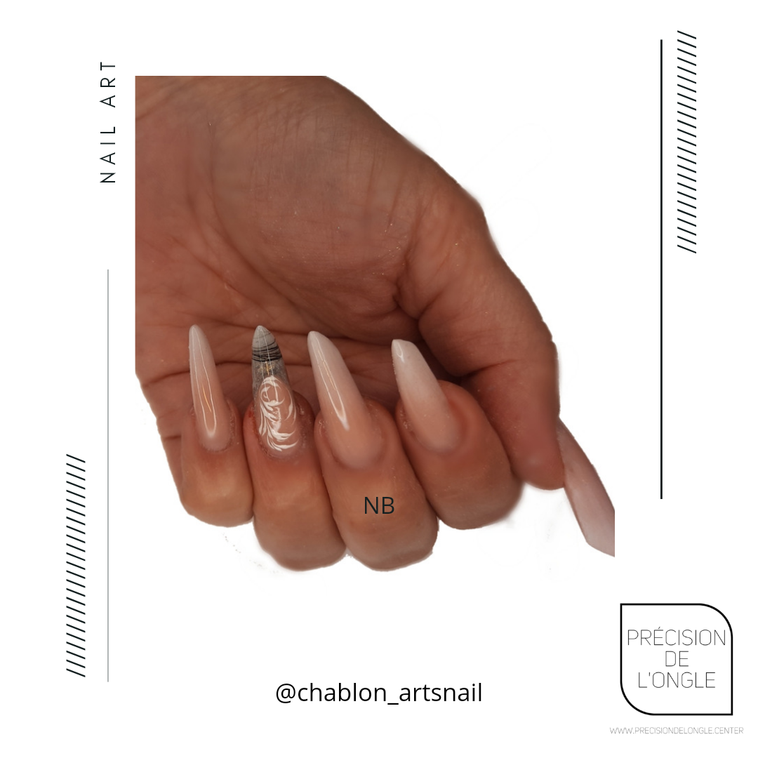 Remplissage  d'ongles babyboommer