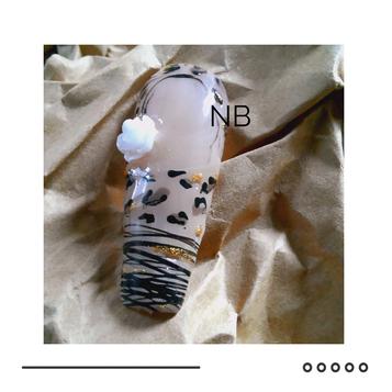 Nails léopard