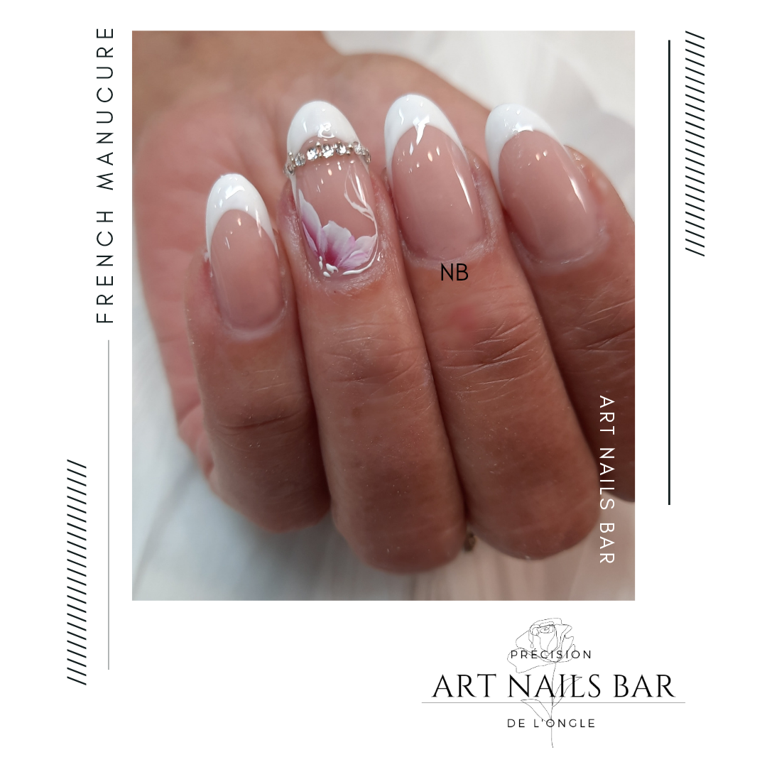 Remplissage d 'ongles french manucure
