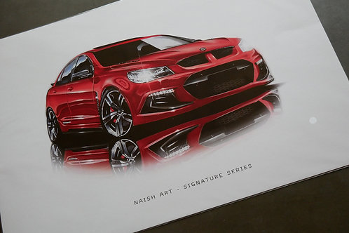 RED VF CLUBSPORT A3